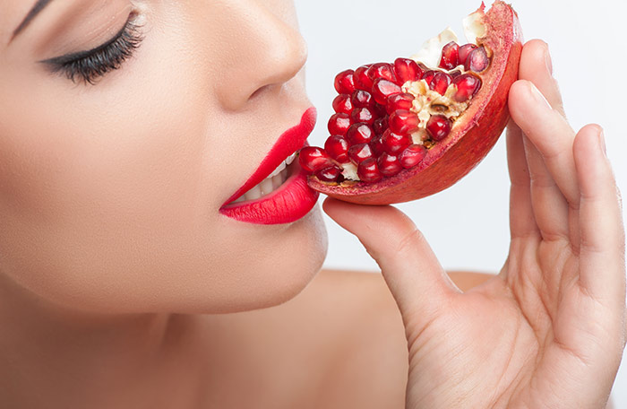 Diet for Dry Skin - Pomegranate
