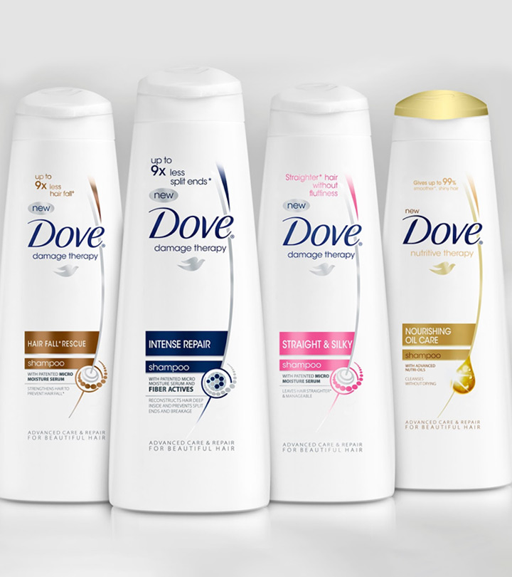 Top 15 Dove Shampoos Available In India