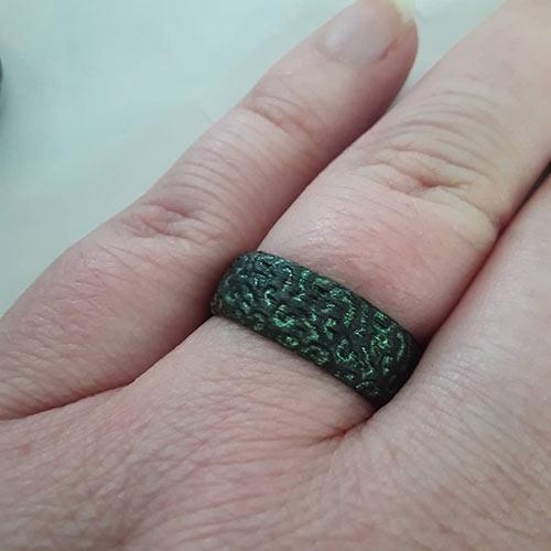 3D Wedding Ring Tattoos