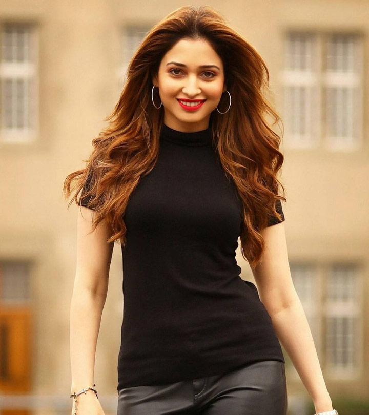 12 Hot and Wet Photos of Tamanna where she shows off her hot waist and curves