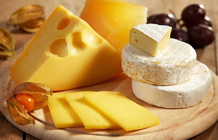 Foods That Cause Acne - Dairy Products
