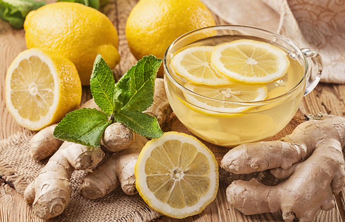 2.-Ginger-And-Lemon-Juice