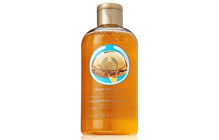 2. The Body Shop Wild Argan Oil Shower Gel
