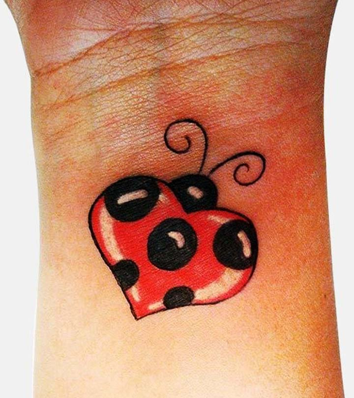 Top 10 Ladybug Tattoo Designs