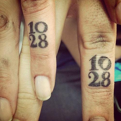 Wedding Date Tattoos