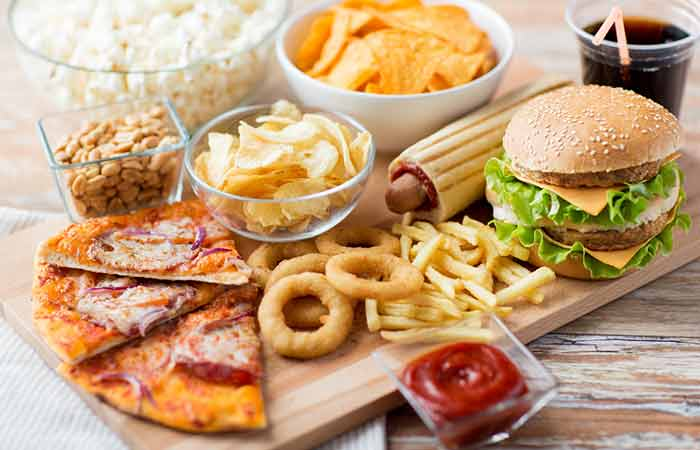 Foods That Cause Acne - Fast Food