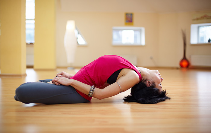 3. Matsyasana (Fish Pose)