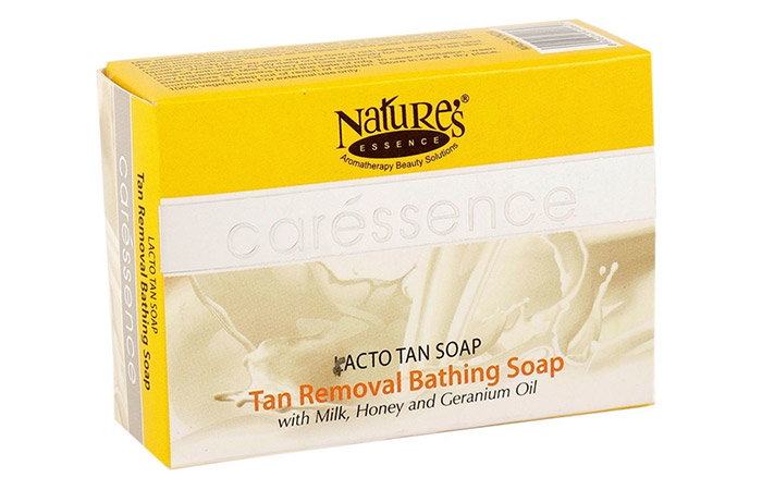 3. Nature's Essence Lacto Tan Soap
