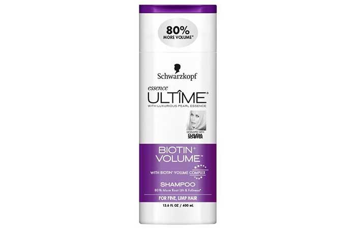 3. Schwarzkopf Essence Ultime Biotin Volume Shampoo
