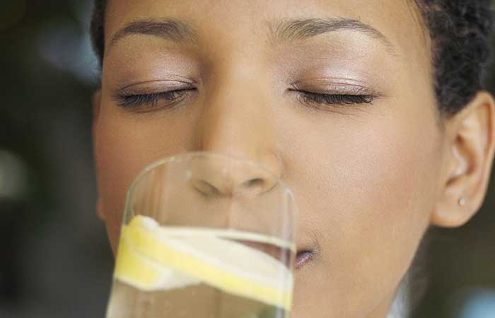 3. Start Your day With Lemon Water