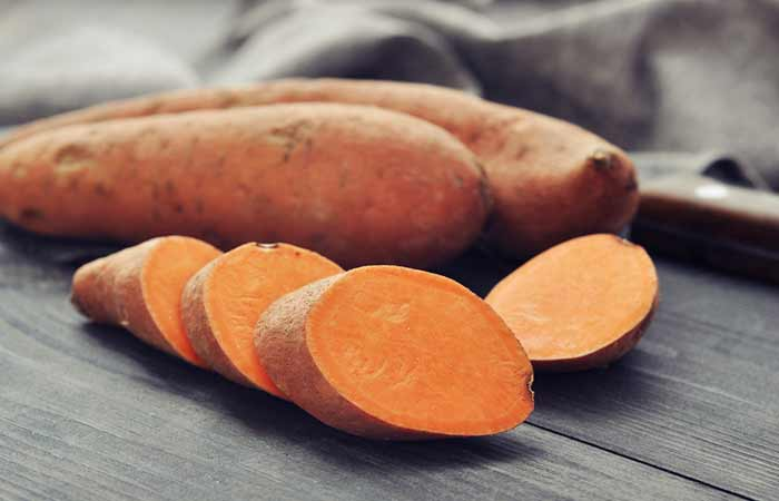 Foods To Prevent Hair Loss - Sweet Potatoes