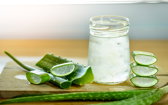 Diet for Dry Skin - Aloe Vera
