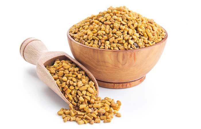 4. Fenugreek seeds