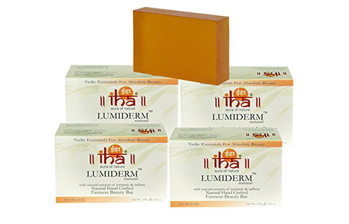 4. IHA Naturals Lumiderm Fairness Beauty Bar