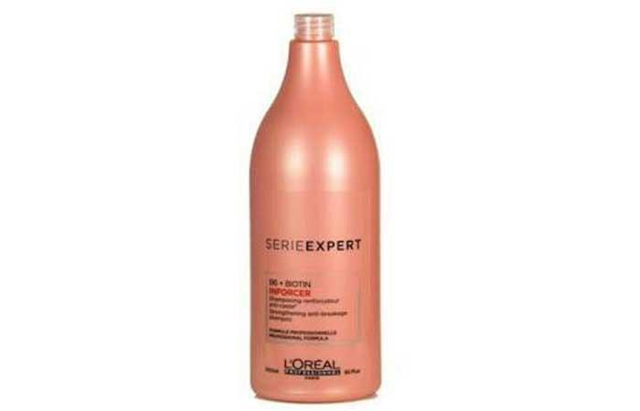 4. L'Oreal Professionnel Serie Expert B6 + Biotin Inforcer Shampoo