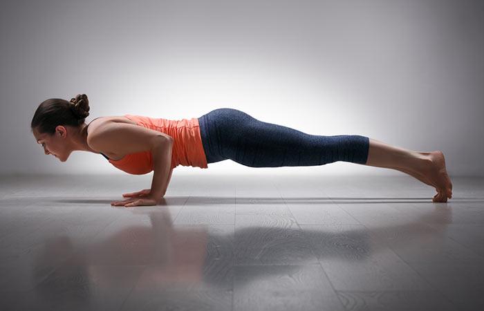 5. Chaturanga Dandasana (Plank Pose)