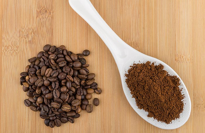 5. Coffee Grounds For Puffy Eyes