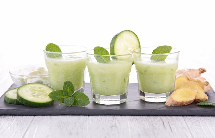 5.-Ginger-With-Cucumber,-Coconut-Oil,-And-Basil-Oil