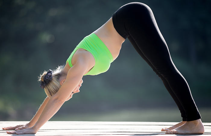 6. Adho Mukha Svanasana (Downward Facing Dog Pose)