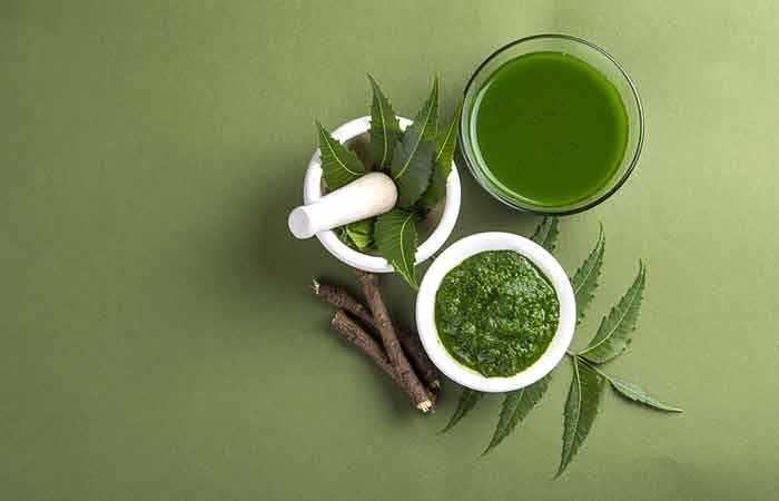 6. Holy Basil And Neem