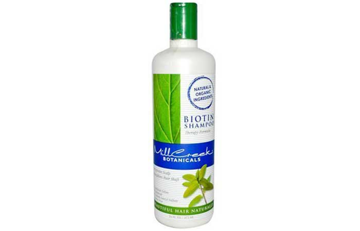 6. Mill Creek Botanicals Biotin Shampoo