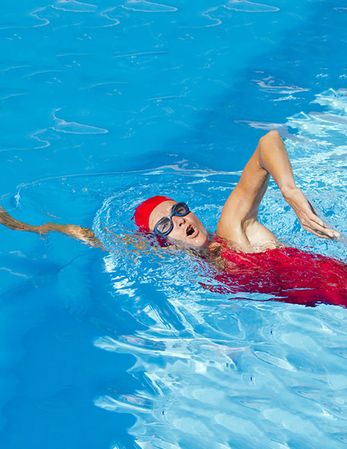 Benefits Of Swimming - Sidestroke