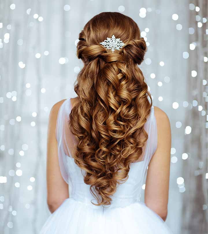 50 bridal hairstyle ideas for your reception junglespirit Image collections
