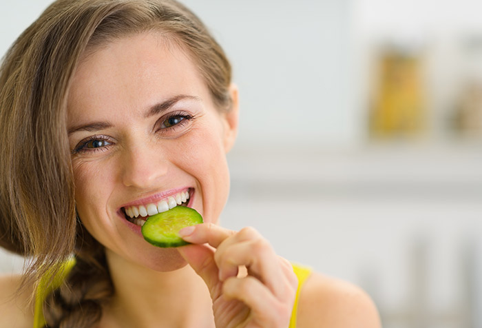 Diet for Dry Skin - Cucumber