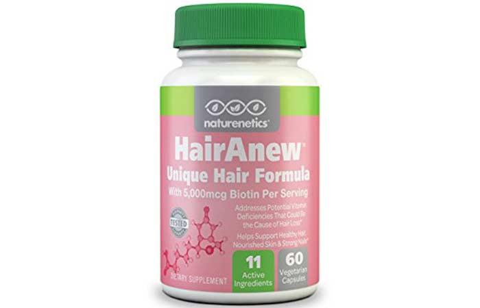 Hair Growth Supplements - HairAnew Hair Formula