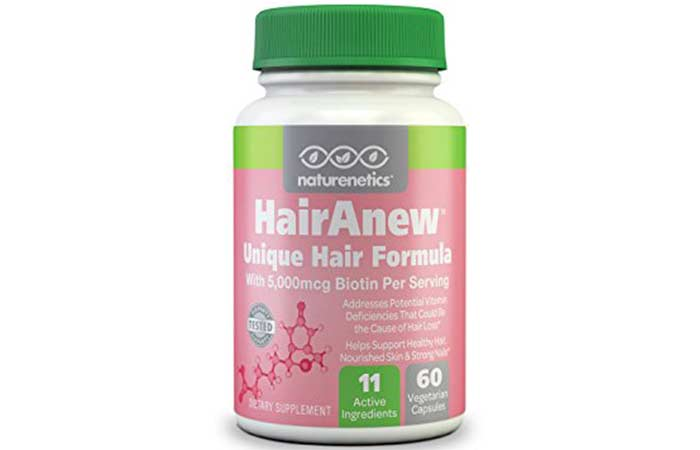 7. HairAnew Hair Formula