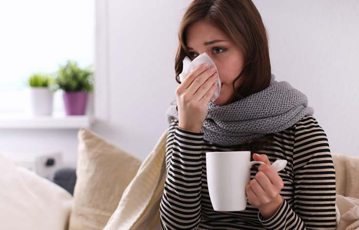 7. Relieves Cough, Cold, And Flu