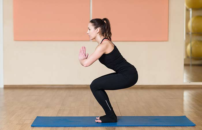 7. Utkatasana (Chair Pose)