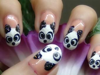 707-Panda-Nail-Art-Tutorial