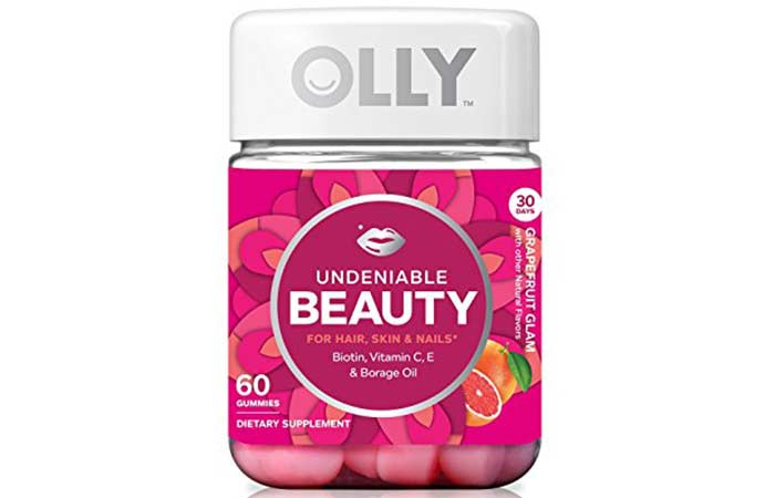 Hair Growth Supplements - Olly Undeniable Beauty Supplement