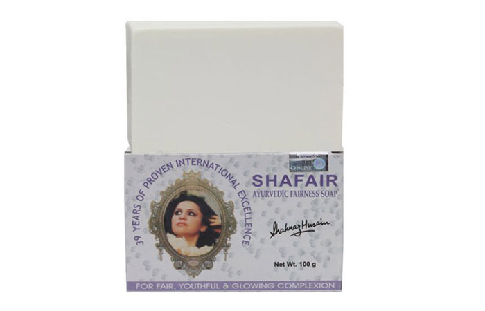 8. Shahnaz Husain Shafair Ayurvedic Fairness Soap
