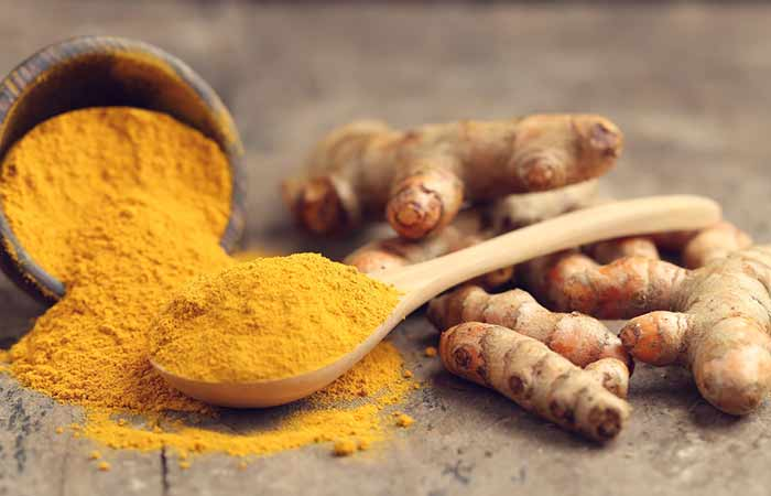 8. Turmeric For Instant Fairness