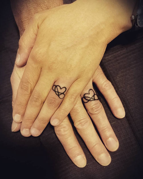 18 Lovely Wedding Ring Tattoos That Symbolize Your Love 2019