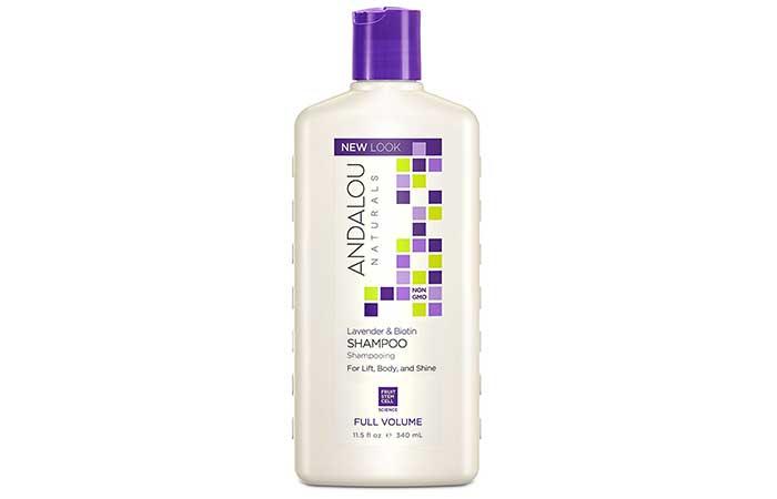 9. Andalou Naturals Lavender And Biotin Shampoo