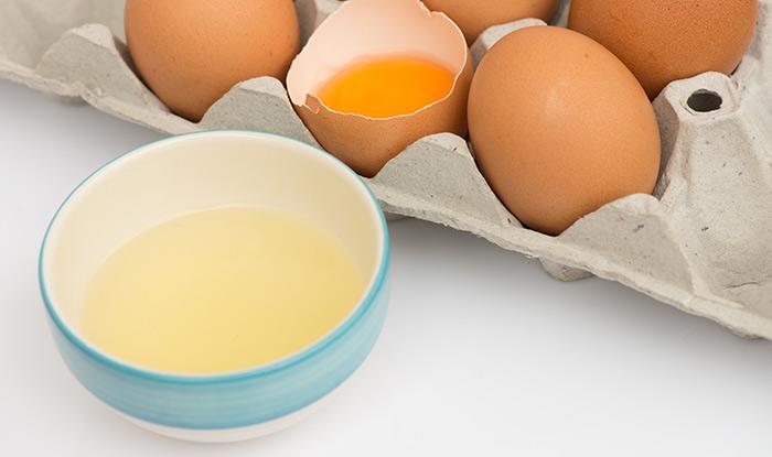 9. Egg White Mask For Puffy Eyes