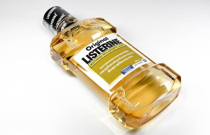 9. Listerine For Scalp Psoriasis