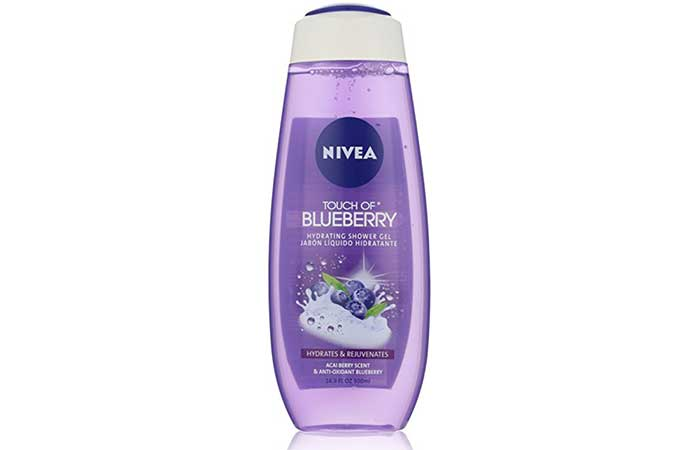 9. Nivea Acai Berry Hydrating Shower Gel