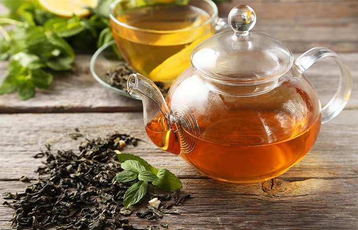 9. Try Green Tea