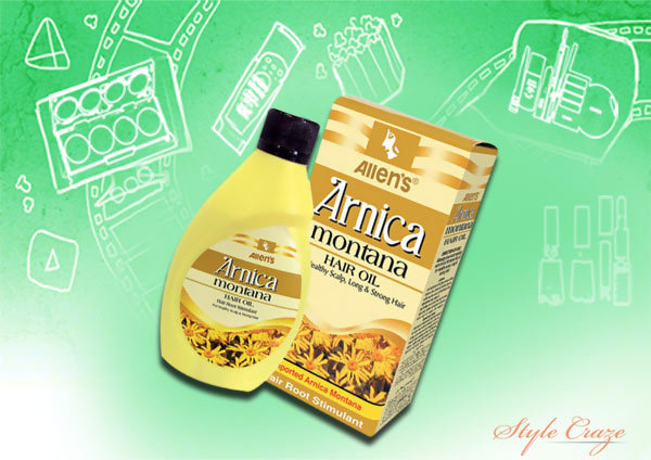 Allen's Homeopathy Arnica Plus Triple Action hair vitalizer