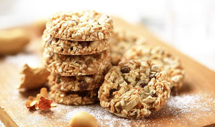Almond Oats Cookies