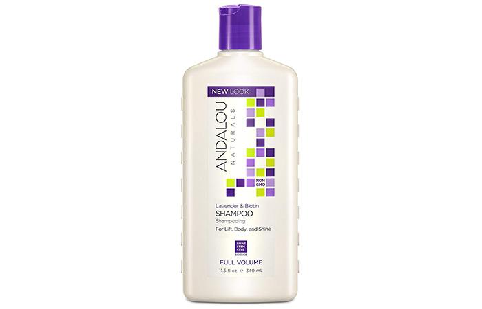 Andalou Naturals Lavender Biotin Full Volume Shampoo