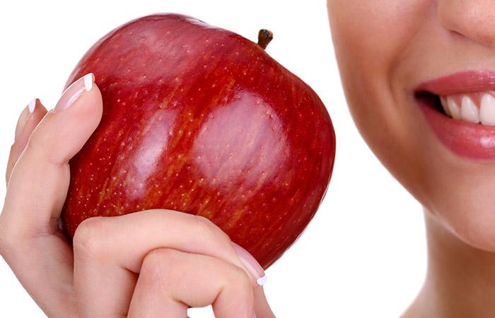 Apples for hair growht