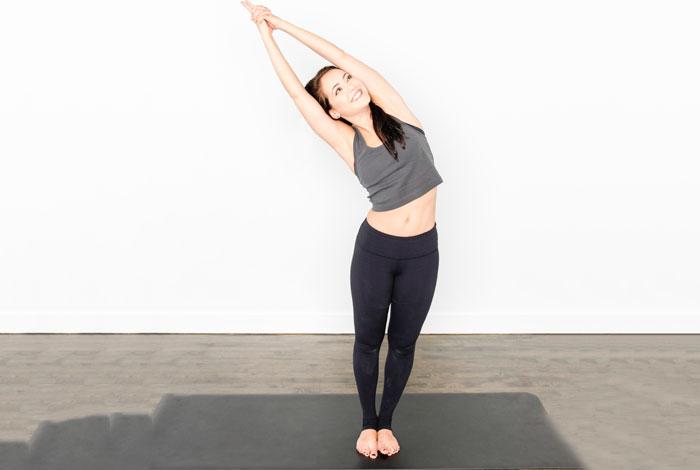 Ardha Chandrasana - Bikram Yoga