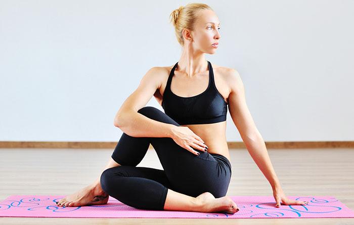 Ardha Matsyendrasana - Bikram Yoga