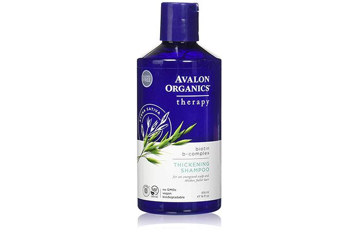 Avalon Organics Therapy Biotin B-Complex Thickening Shampoo