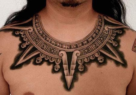 Collana azteca Design Tattoo